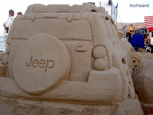 Jeep Sandcastle