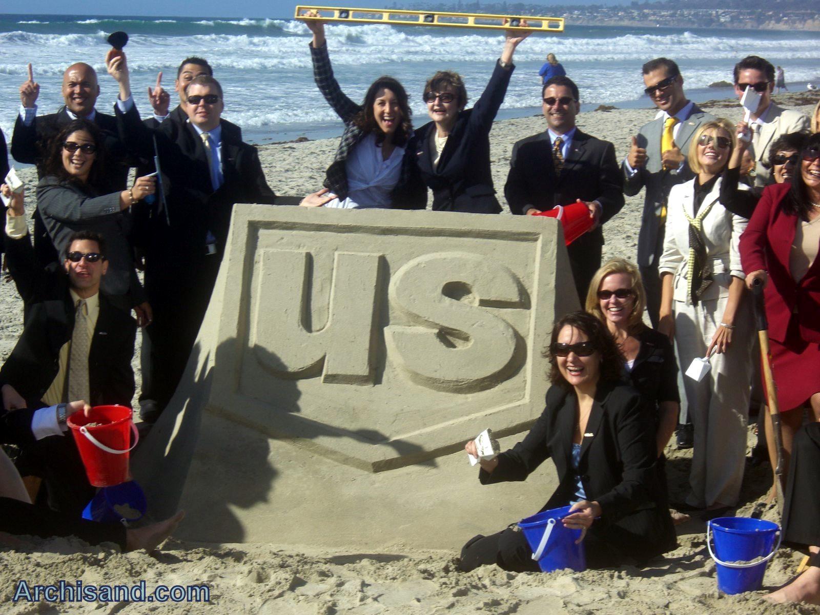 US Bank Sandcastle